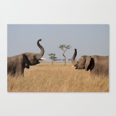Hellophant Canvas Print