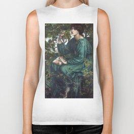 Dante Gabriel Rossetti - The Day Dream Biker Tank