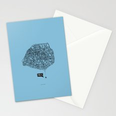 Spidermaps #1 Dark Stationery Cards