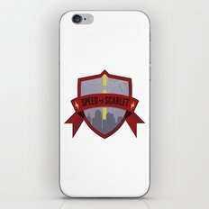 Speed of Scarlet iPhone & iPod Skin