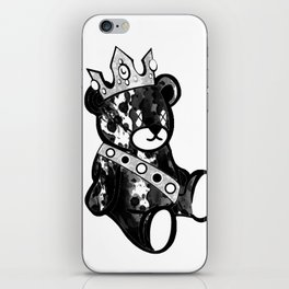 Bear King Splash iPhone Skin
