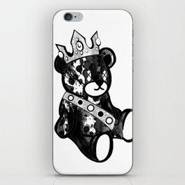 Bear King Splash iPhone Skin