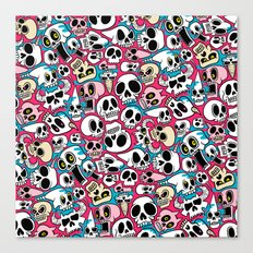 Skullz Canvas Print