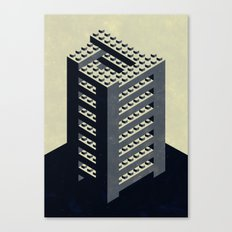The Impossible Tower Canvas Print