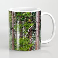 forrest Mugs featuring Forrest by Savannah Ault