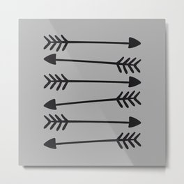 Hand Drawn Arrows 2 Metal Print
