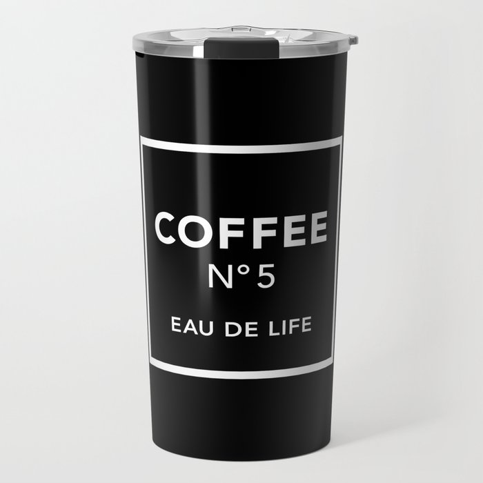 Black Coffee No5 Travel Mug