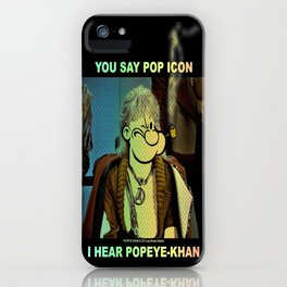 POP ICON / POPEYE-KHAN 025 iPhone Case