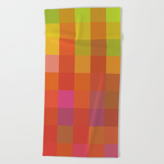 Quadros 01 Beach Towel