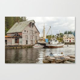 About to set sail Canvas Print