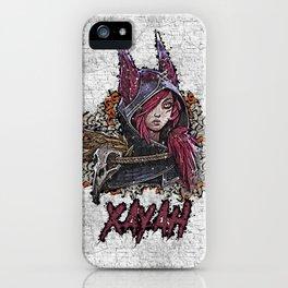 League of Legends XAYAH - Graffiti Style iPhone Case