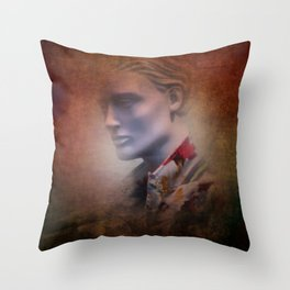 in the shop window -d- Throw Pillow