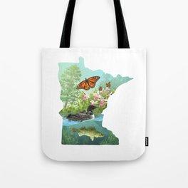 Minnesota Symbols Tote Bag