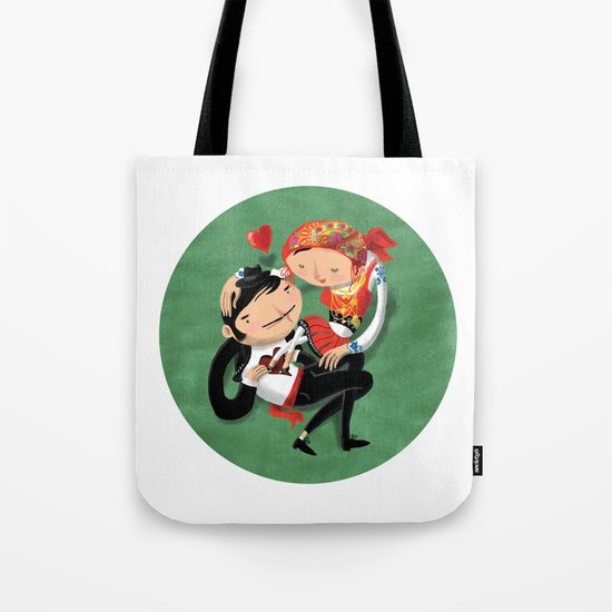 Manel & Maria (Etnography Portuguese People) Tote Bag