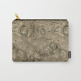 Ordovician Fossils Seamless Pattern Carry-All Pouch