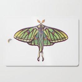 Spanish Moon Moth (Graellsia isabellae) Cutting Board