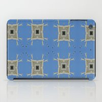 salvador dali iPad Cases featuring Salvador Dali Tribute  by Louisa Catharine Art And Patterns