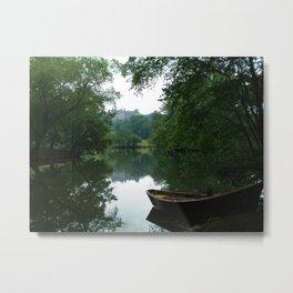 Biltmore House Boat  Metal Print