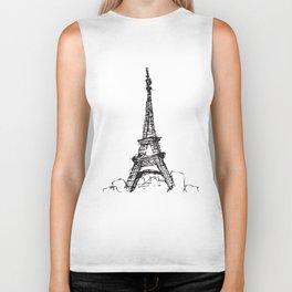 Tour Eiffel Biker Tank