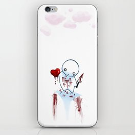 No Heart, No Pain. iPhone Skin
