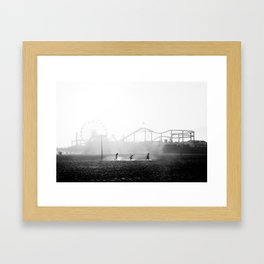 Column Framed Art Print