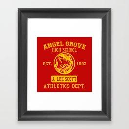 Angel Grove Framed Art Print