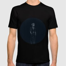 Gregory Isaacs Mens Fitted Tee Black MEDIUM