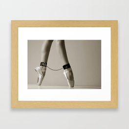 Bondage Ballet Framed Art Print