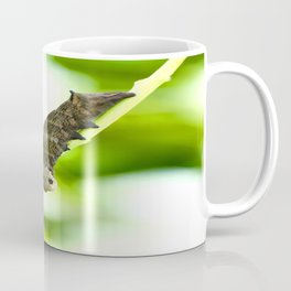 Caterpillar On A Green Plant #decor #society6 Coffee Mug