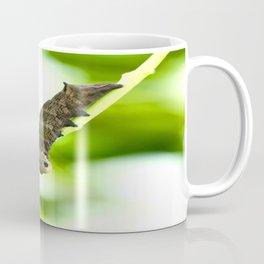 Caterpillar On A Green Plant #decor #society6 #buyart Coffee Mug