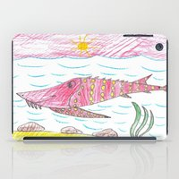 tennessee iPad Cases featuring Tennessee Lake Sturgeon by Ryan van Gogh