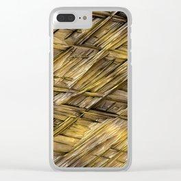 Grannys Hut - Structure 1A Clear iPhone Case