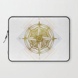 Golden Compass Laptop Sleeve