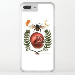 Honey Honey Clear iPhone Case