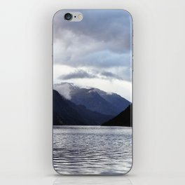 Inbetween Mountains iPhone Skin