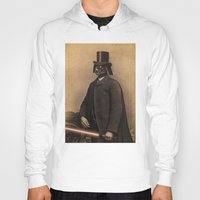 star Hoodies featuring Lord Vadersworth by Terry Fan