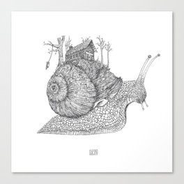 My Own Pace Canvas Print