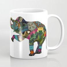 asian elephant white Mug