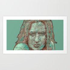 in the mind´s eye... Art Print