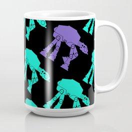 Star Wars AT-AT Teal and Purple Coffee Mug