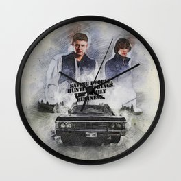 The Family Business Wall Clock