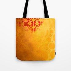Pattern in a sandstorm Tote Bag