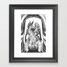Haunted Clothing- The Small Creatures Framed Art Print
