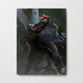Venom battle Metal Print