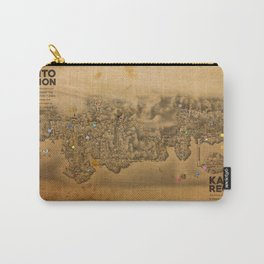 Kanto Region Map Carry-All Pouch