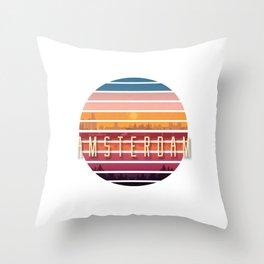 Amsterdam Vintage Throw Pillow