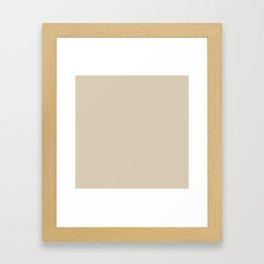 Crème Brule Framed Art Print