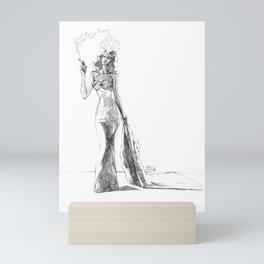 The Noir Style 1 Mini Art Print