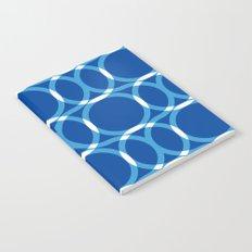 Blue Pattern Notebook