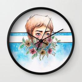 The Blue Paladin Wall Clock